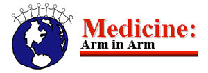 Medicine Arm In Arm Logo