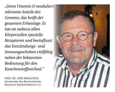 Dr. Jörg Mahlstedt: Vitamin-D