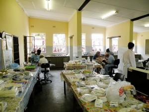 Zahnklinik in Afrika