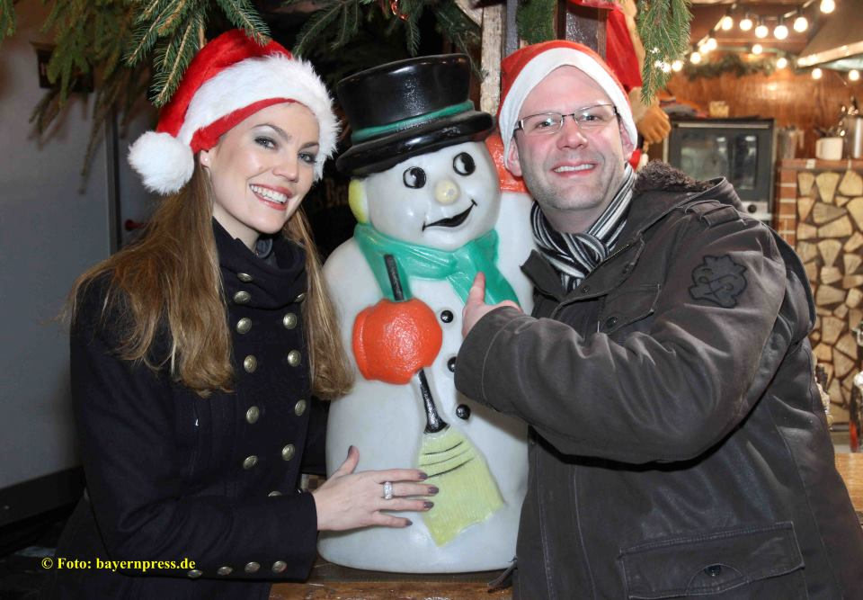 Claudia Pinkert und Jens Urban Weihnachtsmarkt in Fürth