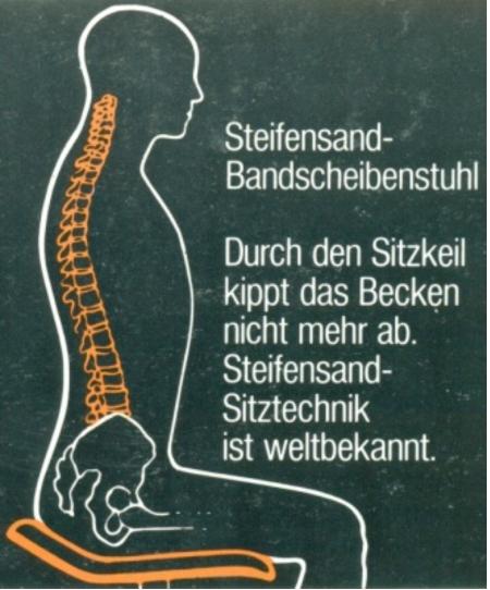 F-Martin Steifensand Bandscheibenstuhl