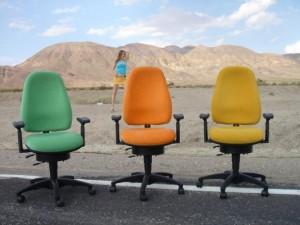 Gernot Steifensandpräsentiert sensommotorisches und ergonomisches Sitzen nach Maß