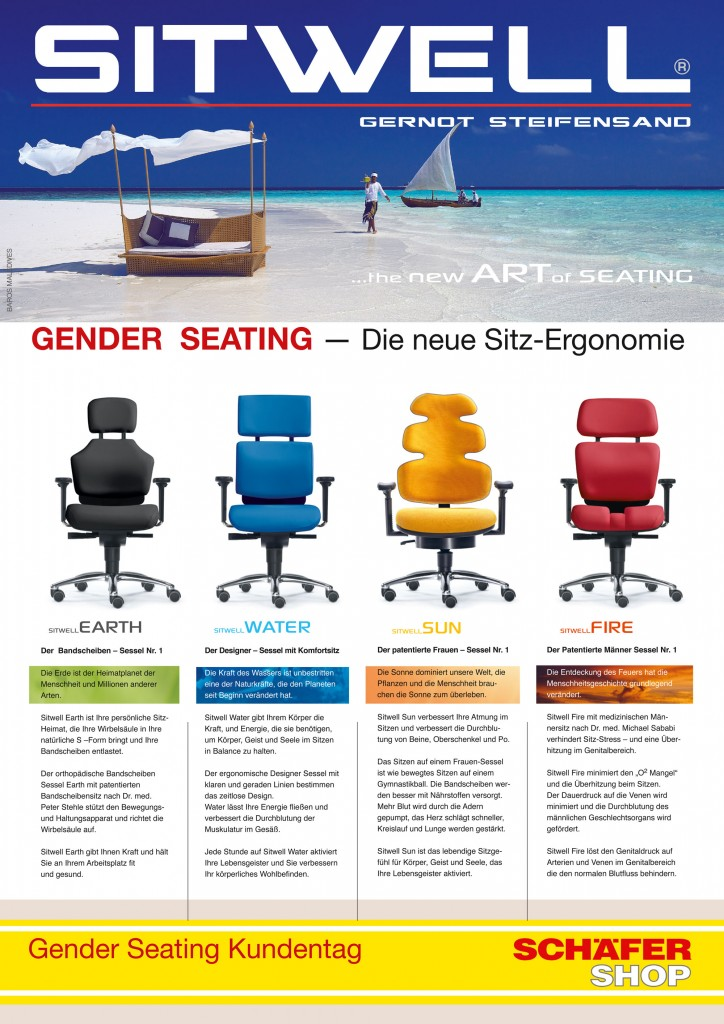 Gender Seating Broschüre