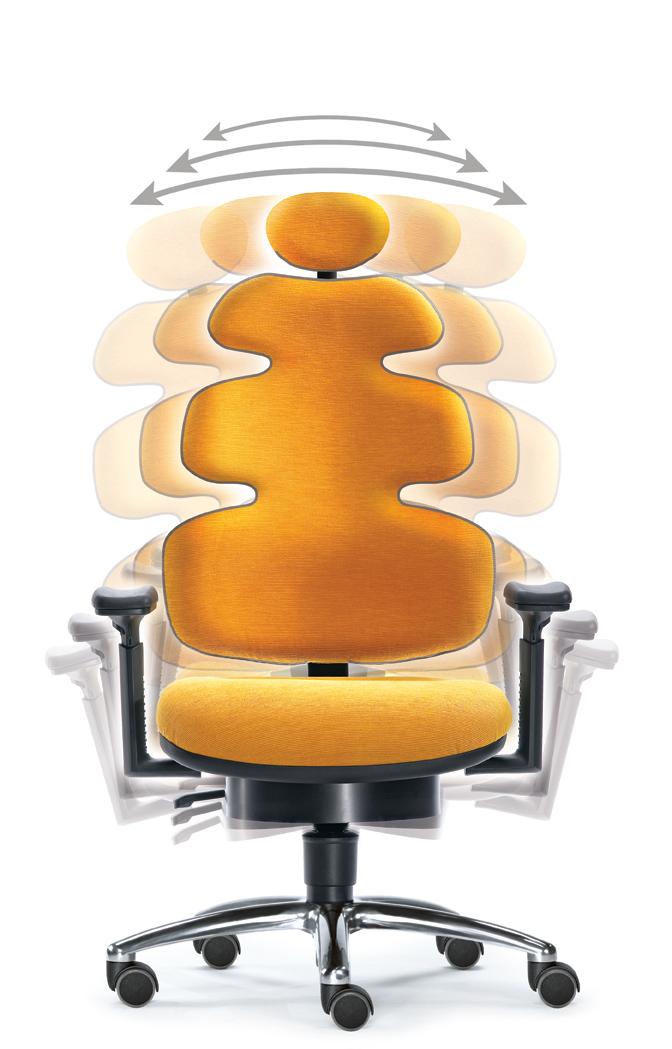 Rückenbrand - Nein, Danke - Das bewegte und ergonomische Gender-Seating Konzept ist die neue Sitzrevolution im Büro