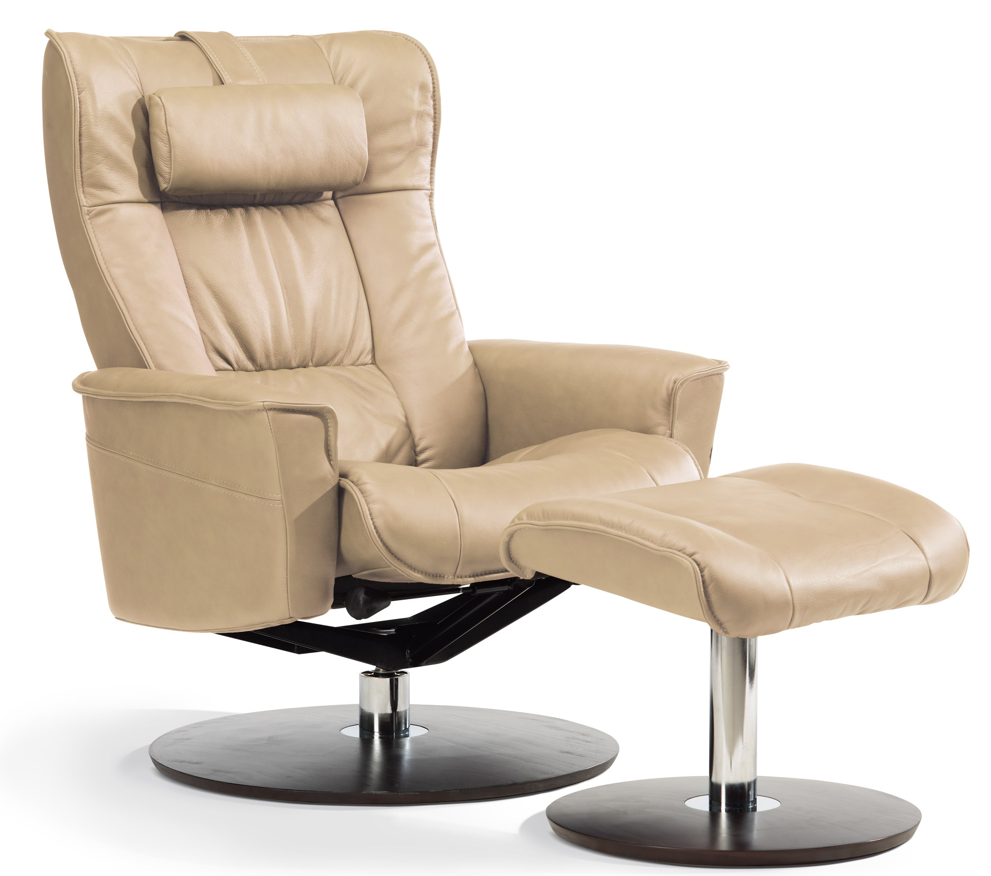Sitwell Gernot Steifensand Relax Sessel - Der Elegante in creme