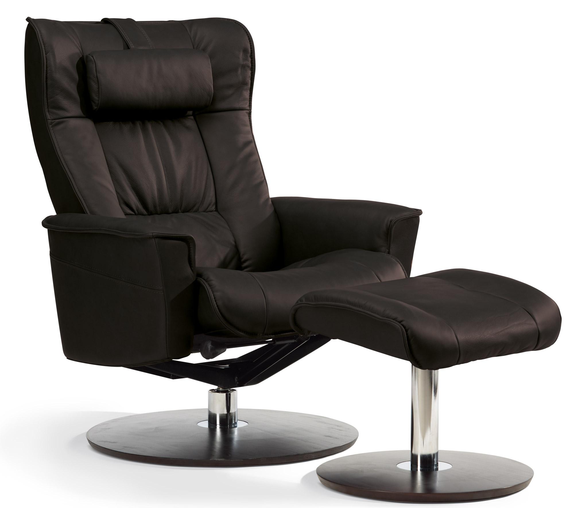 Sitwell Gernot Steifensand Relax Sessel - Der Kompakte in schwarz