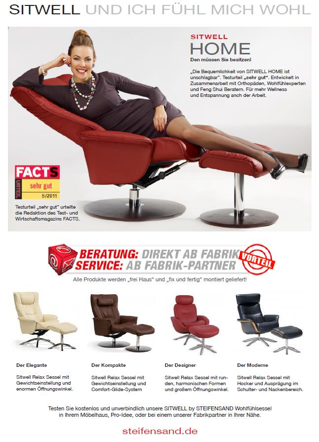 Sitwell Gernot Steifensand TV-und Relax Sessel