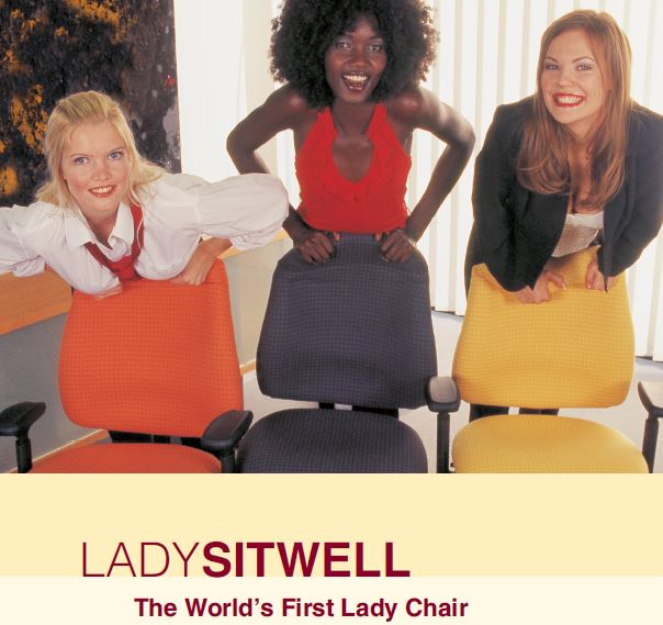 LADYSITWELL - The World´s First Lady Chair by Sitwell Gernot Steifensand Germany