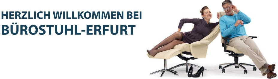 Bürostuhl Erfurt gesund sitzen