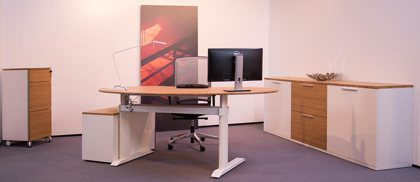 Der ergonomische Bambus Arbeitsplatz Nr. 1