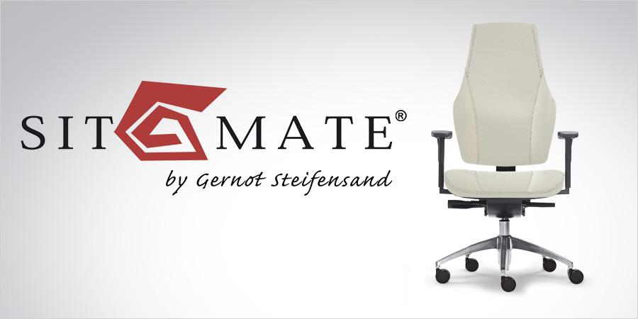 SitMate Bürostuhl Logo und Info