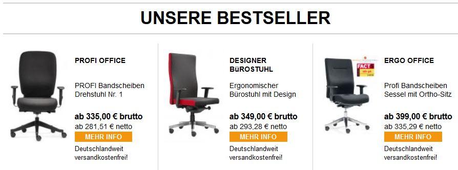 Bürostühle-Bestseller-kaufen