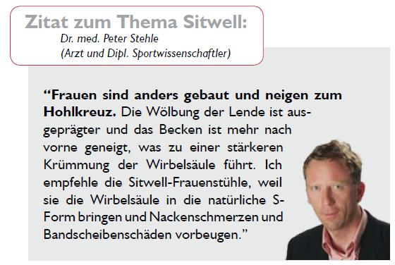 Rückenschmerzen_in_Berlin_vermeiden_Doktor_Peter_Stehel empfiehlt_SITWELL_den_Marken_Buerostuhl